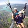 Paragliding am Tegernsee