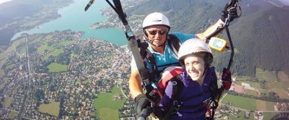 Paragliding – Gleitflug