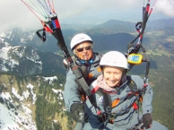 Paragliding in Lenggries