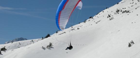 Paragliding Bad Tölz (Blomberg)