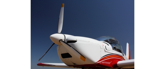 Sportflugzeug fliegen