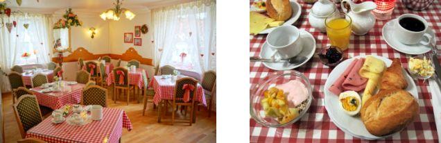 Frühstück im Hotel Monaco