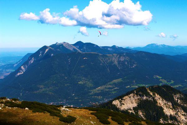 Blick vom Osterfelderkopf auf den Wank