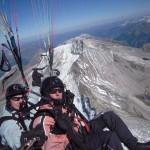 Ein Paragliding-Tandemflug in den Zillertaler Alpen