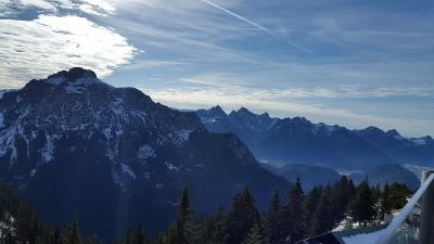 Bergpanorama vom Tegelberg